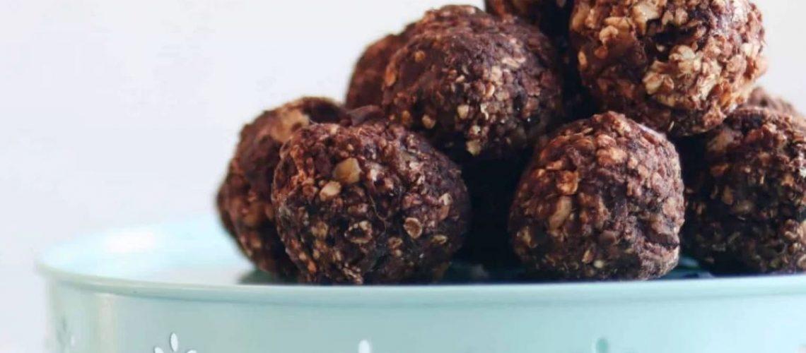 Boules d'énergie protéinée choco & noix de cajou